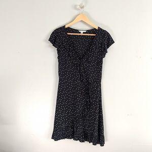 American Eagle Dress Mini Polka Dot Ruffle